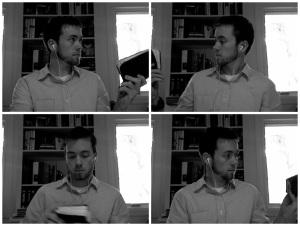 composite of joseph passing a bible